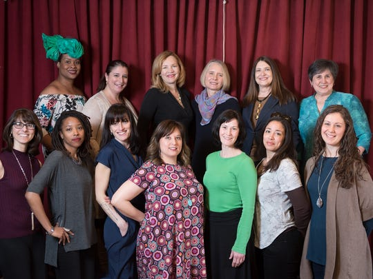 LTYM1The cast of the 2017 Listen to Your Mother: Rochester.