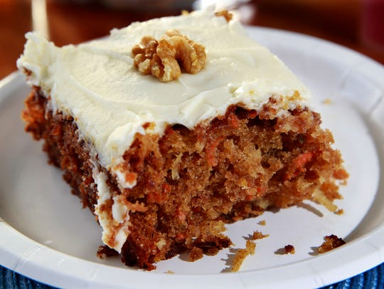 It's hard to beat a good carrot cake, like this one.