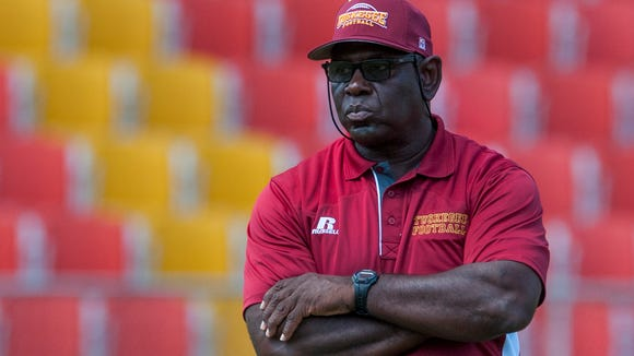 Tuskegee coach Willie Slater and the Golden Tigers will look to rebound from their first loss of the season this weekend at Central State.