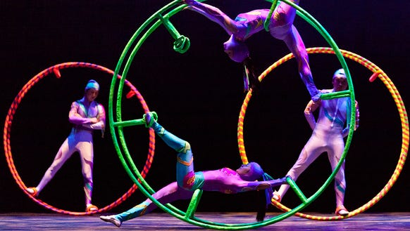 The Golden Dragon Acrobats perform Jan. 13 at the Admiral.