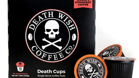 Death Wish Coffee Company coffee pods will be available June 9 in South Dakota Walmart stores.