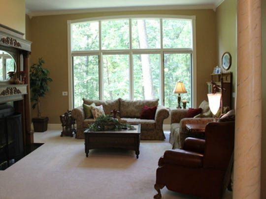 Dressing the windows is a great way to add color, texture, or introduce another pattern.