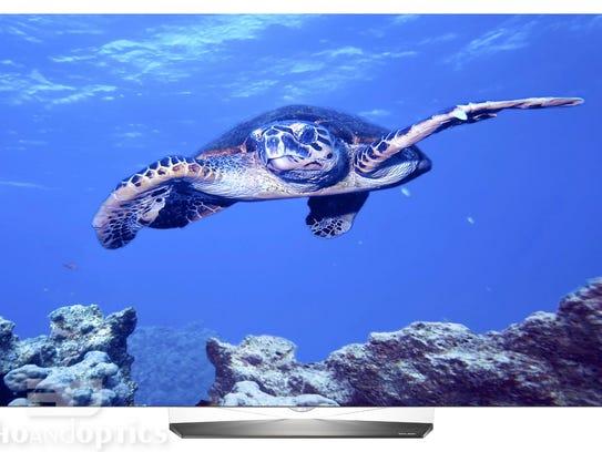 This stunning OLED TV offers high contrast, big brightness,