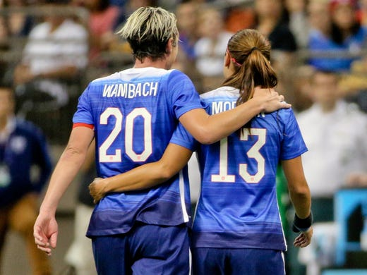 quality design 04c16 c54eb USWNT: Abby Wambach to be inducted into National Soccer Hall ...