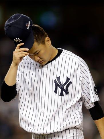 Masahiro Tanaka was 12-7 with a 3.51 ERA in 24 starts