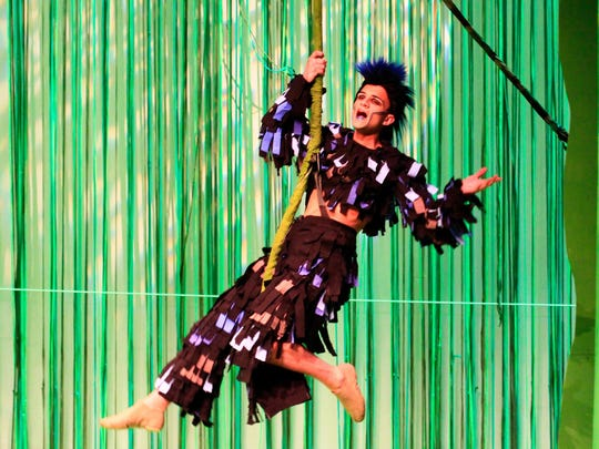 Tarzan's best friend Terk is being performed by MSU