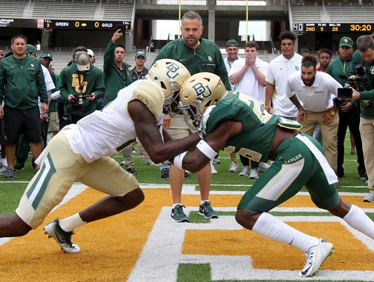 AP BAYLOR SPRING GAME FOOTBALL S FBC USA TX