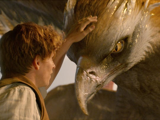 """Eddie Redmayne stars in """"Fantastic Beasts and Where to Find Them."""""""