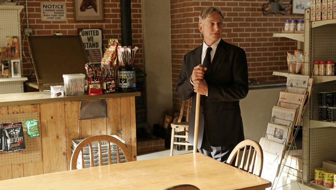Gibbs (Mark Harmon) goes home after learning of the death of his father (Ralph Waite) in the the 11th season finale of 'NCIS.'