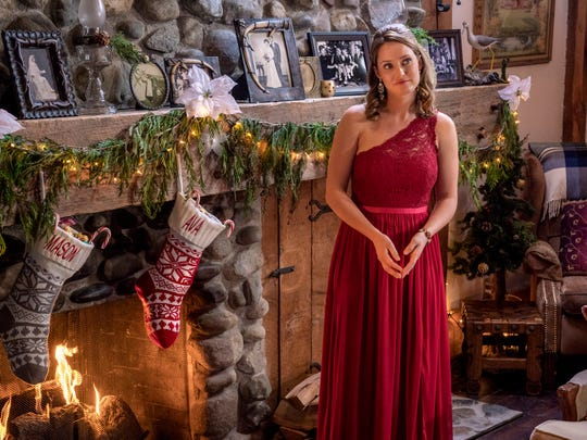 "Merritt Patterson plays Lacey in ""The Christmas Cottage."""