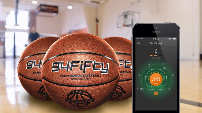 The 94Fifty basketball and app.