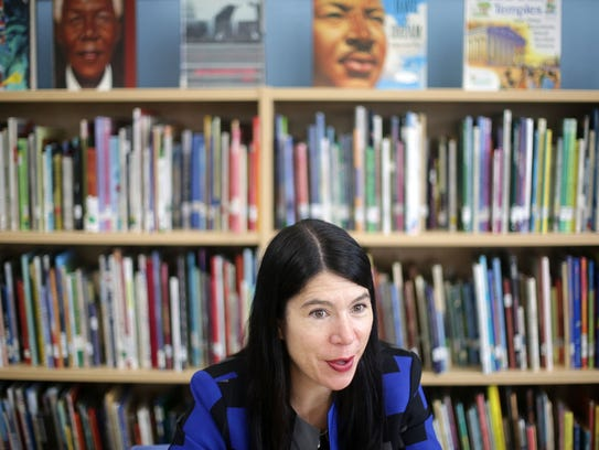 Alycia Meriweather, 42, of Detroit is the new interim