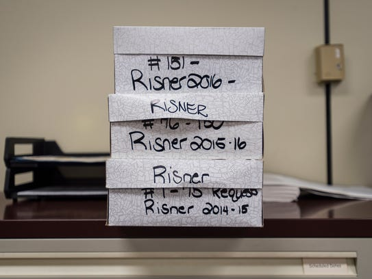 Over the past several years, Philip Risner has sent