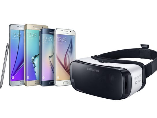 Samsung Gear VR works with one of four Samsung smartphones.