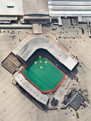 Old Cardinal Stadium.