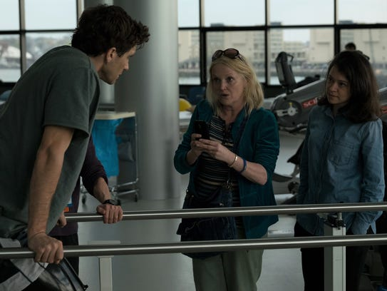 Jake Gyllenhaal (from left), Miranda Richardson and
