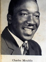 Charles Moulden's senior photo in the 1964 Sevier County