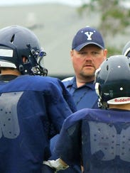 New Yale High School coach Scott Brown.