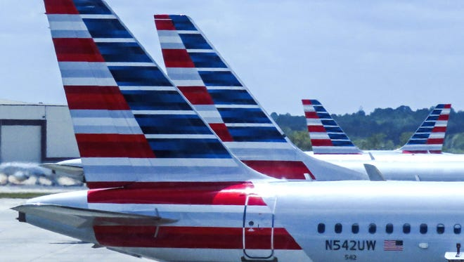 More than 160 flights from Charlotte Douglas International Airport were canceled Thursday due to the remnants of Hurricane Michael.