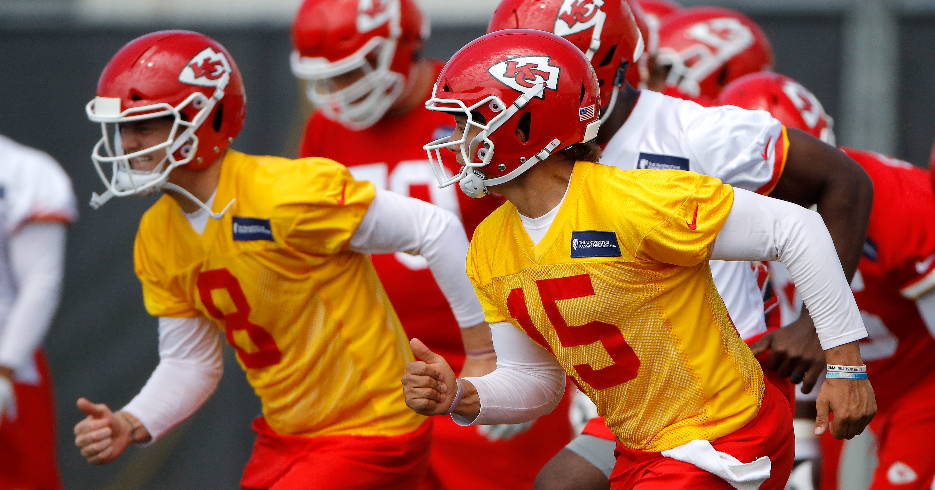 7ec36deb Chiefs' Patrick Mahomes II embracing life in Kansas City