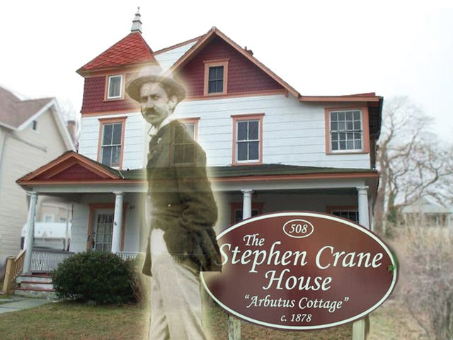 Weird NJ haunted Stephen Crane house