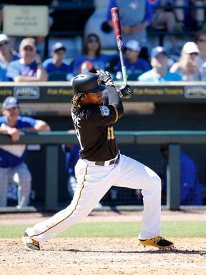 Gift Ngoepe is considered the best defensive prospect in the Pirates organization.