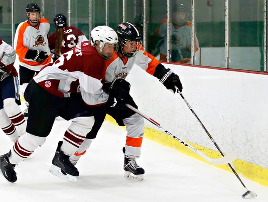 Central York vs Manheim Central ice hockey