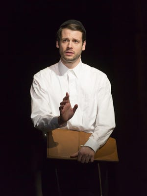"""Miles G. Jackson stars in """"My Name Is Asher Lev"""" at George Street Playhouse."""""""