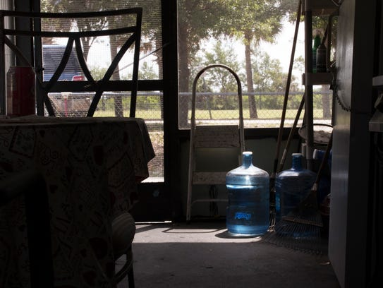 Charleston Park residents rely on bottled water to