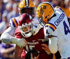 All quiet on the LSU front: only 1 significant injury, no controversies, no arrests