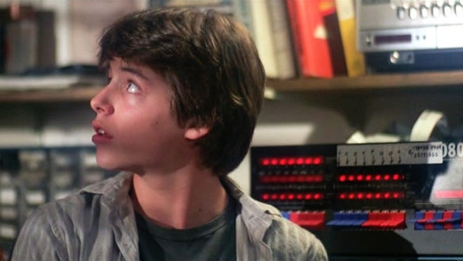 Matthew Broderick stars in  the 1983 motion picture WarGames. Broderick connects his home computer to one at NORAD by accident.