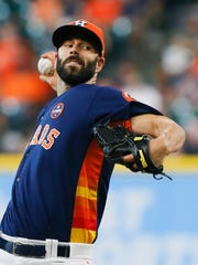 Pitcher Mike Fiers not only helps solidify the Tigers'