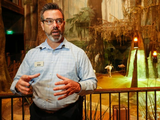 Bryan Nadeau is the new vice president of conservation attractions, which includes WOW, Dogwood Canyon Nature Park and Top of the Rock Ozark Heritage Preserve in Ridgedale.