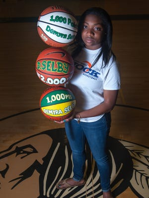 After dominating the Eastern Shore by scoring over 2000 in her high school career, Demyra Selby is heading to NAIA Washington Adventist University in the fall.
