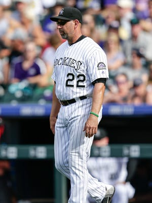 Walt Weiss led the Rockies to a third-place finish last season.