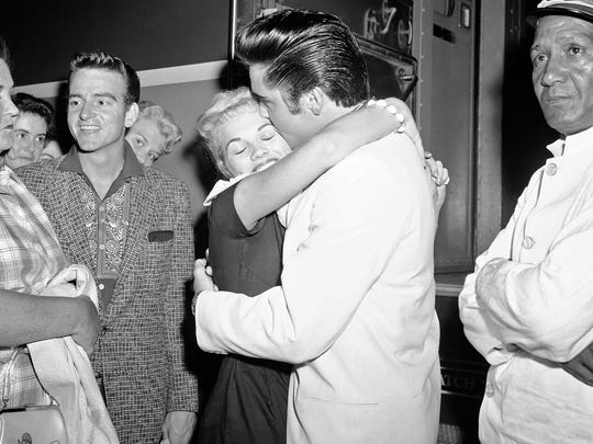 Elvis and women: He couldn't help falling in love