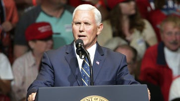 Pence's solo tour hits Indy. Is he doing his political duty or building his own empire?