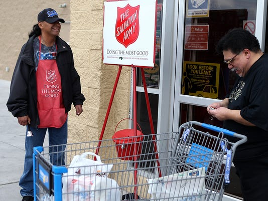Salvation Army Kettle Bell