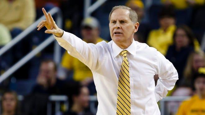 Michigan coach John Beilein.