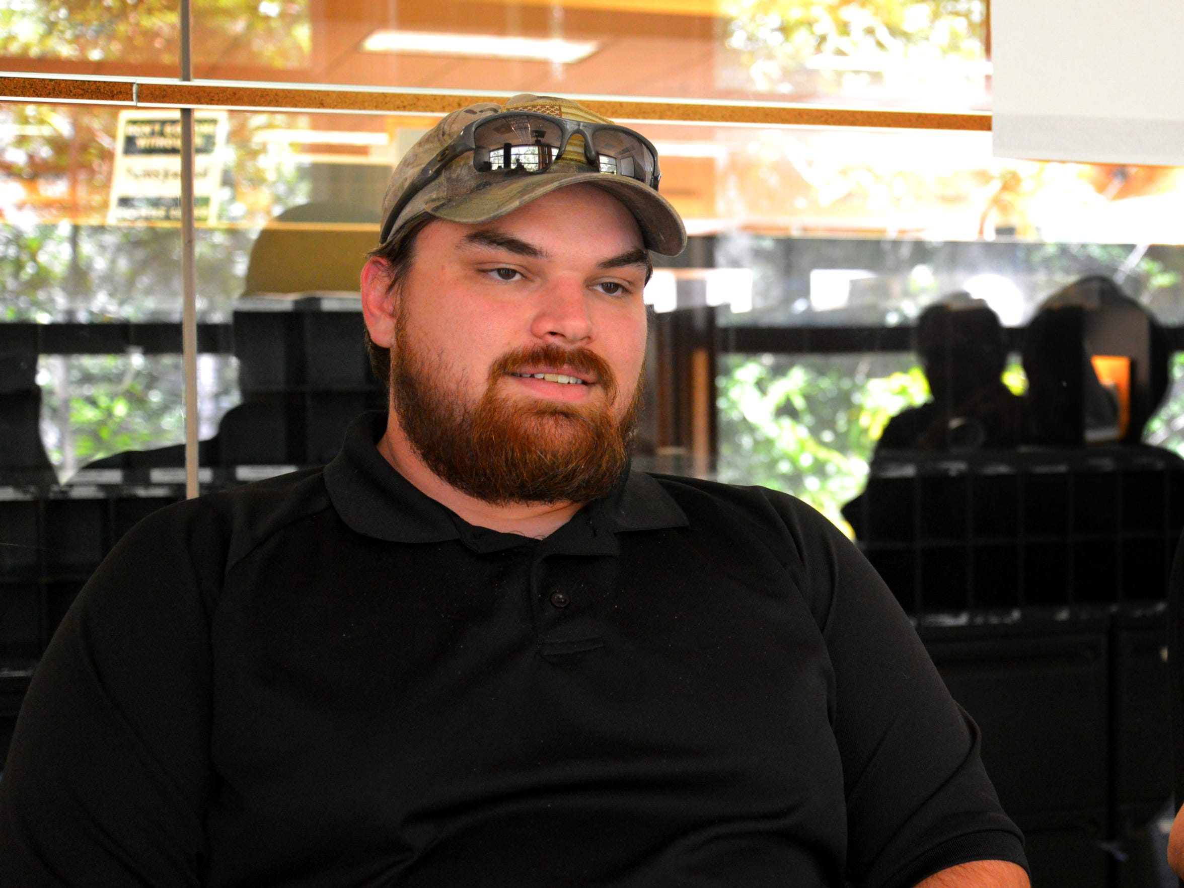 Ethan Wagner, veteran who lives in Palm Bay, received a home through the Homes for Warriors program.