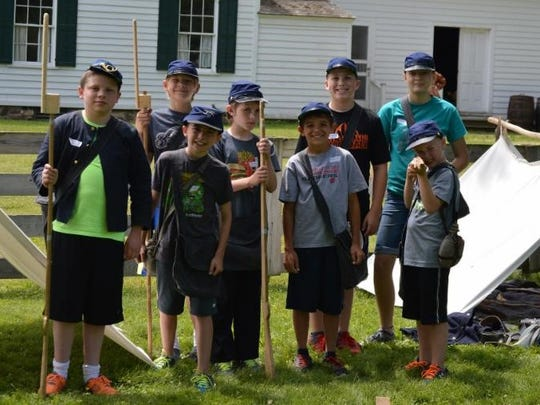 The Civil War era comes to life in Wade House's Civil War Day Camp.