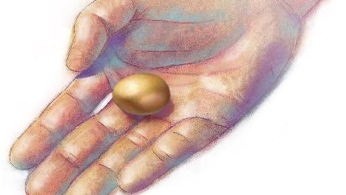 A small retirement nest egg