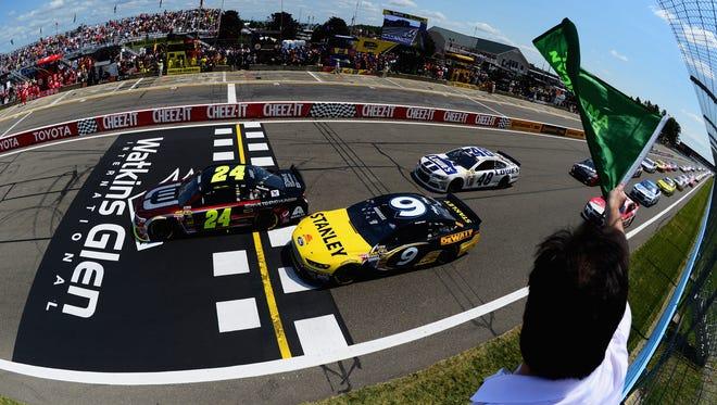 10Best readers chose Watkins Glen International as the best NASCAR track.