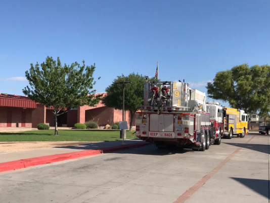 Smoke at Peoria school