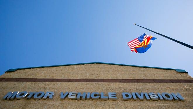 An Arizona Motor Vehicle Division office.