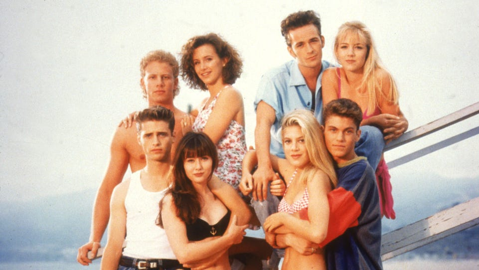 '90210' debuted 25 years ago on Oct. 4, 1990.