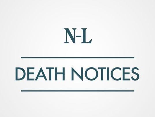 635764812017874125-Death-notices-1393516777000-DEATHNOTICES