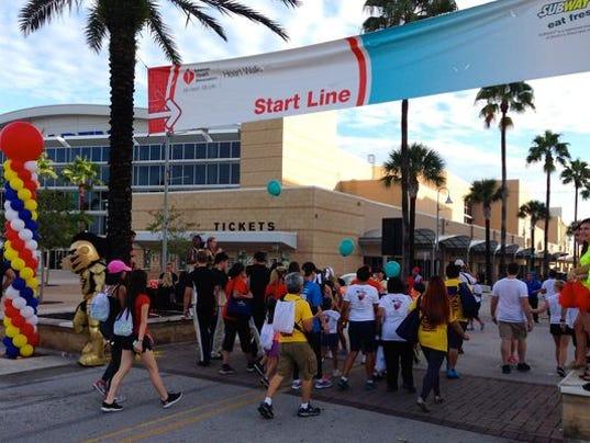 Orlando Heart Walk at UCF