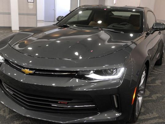 New Camaros Roll Off Assembly Line In Lansing Monday