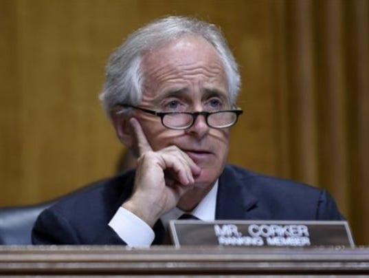 Sen. Bob Corker changes mind and says he will support 'repeal and delay' of Obamacare